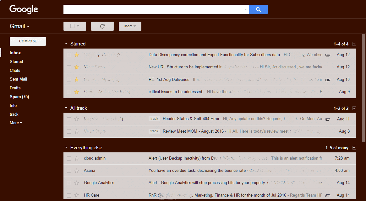 setting up gmail priority inbox to manage prioritization